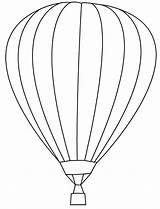 Balloon Air Coloring Template Balloons Outline Bing Printable Drawing B6 Eb Ac String Patterns Colouring Ballon Balon Adult Clip Sanatı sketch template