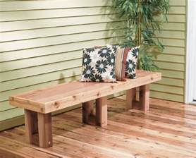 Building A Deck Bench by How To Build A Deck Bench Quarto Homes