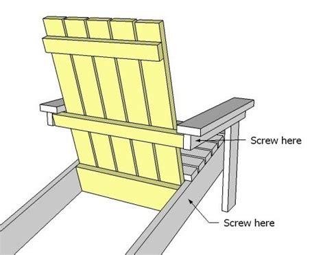 isau  chair plans adirondack