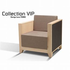 chauffeuse design vip bois hetre couleur au choix tissus With fauteuil design pour salon
