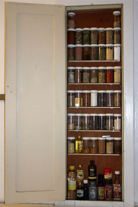 Recessed Spice Rack by Spice Cabinet Jpg 2048 215 3072 From Built In Ironing