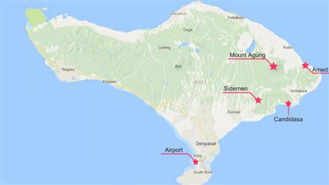 volcan agung la verite sur une  eruption villa