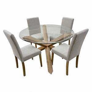 Furniture Adorable Round Dining Table For 4 Design Ideas