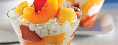 cottage cheese and fruit mixed fruit with cottage cheese snack recipes dole
