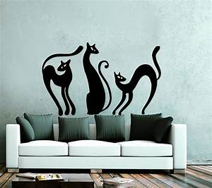 good looking cat wall decals home design 922 With good look chruch wall decals
