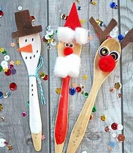 Basteln Winter Kindergarten : weihnachtliches basteln motive winter nikolaus rentier schneemann basteln holzl ffel basteln ~ Eleganceandgraceweddings.com Haus und Dekorationen