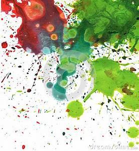 Tache De Couleur Peinture Fond Blanc : fond abstrait de tache d aquarelle pinteres ~ Melissatoandfro.com Idées de Décoration