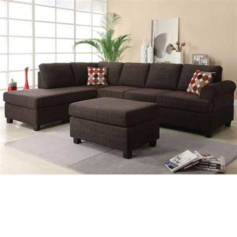 reversible sectional sofa chaise dreamfurniture com 50540 donovan butler onyx morgan