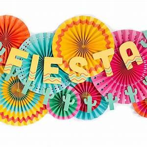 Fiesta Party Banner Fiesta Decor Mexican Fiesta Birthday