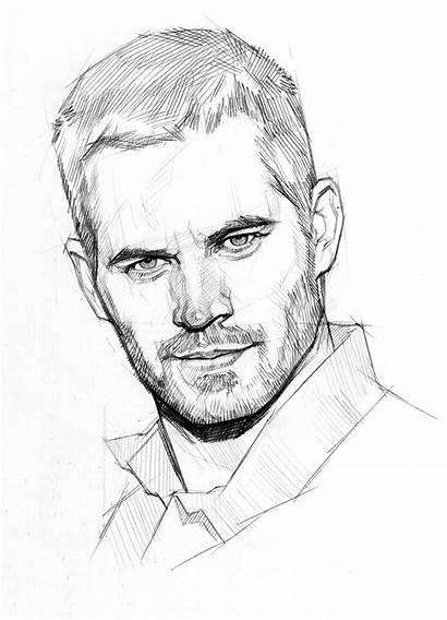 Walker Paul Drawing Pencil Sketch Drawings Sketches