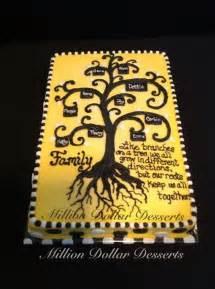 Family Reunion Tree Cake