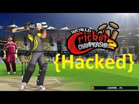 world cricket chionship 2 android gameplay and hacked