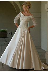 Wedding gowns for older women second marriage older for Dresses for older women to wear to a wedding