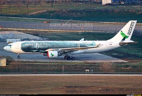 CS-TRY - Azores Airlines Airbus A330-200 at Madrid - Barajas | Photo ID 663275 | Airplane ...