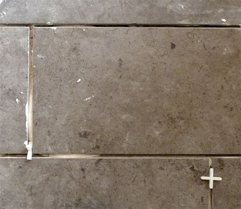 reasonable expectations  grout width