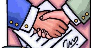 contoh surat perjanjian kerjasama resmi  benar