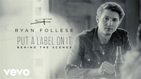 Float Your Boat Ryan Follese by Ryan Follese Put A Label On It Behind The Scenes Youtube