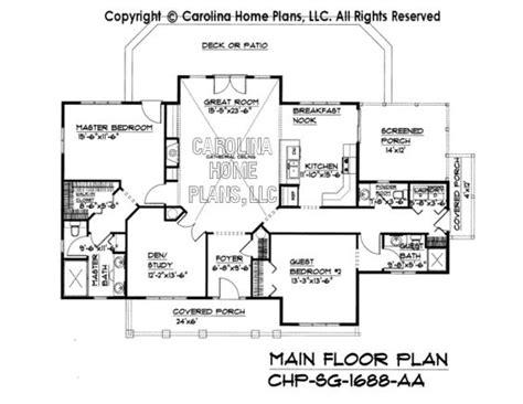 sg  main floor plan br  study houses   pinterest house plans ranch house