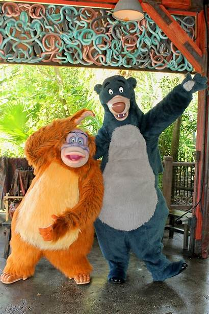 Louie King Baloo Animal Kingdom Landing Disney