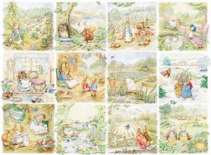 Peter Rabbit Character Vignettes (500 Piece Puzzle by NYPC)
