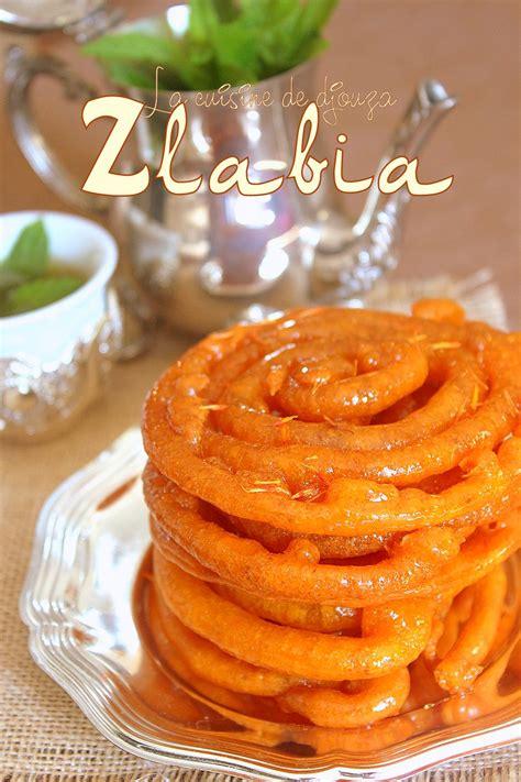 recette cuisine arabe gateaux arabes zlabia