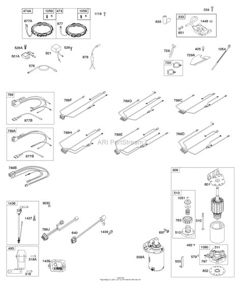 briggs and stratton 44q777 0129 b1 parts diagram for