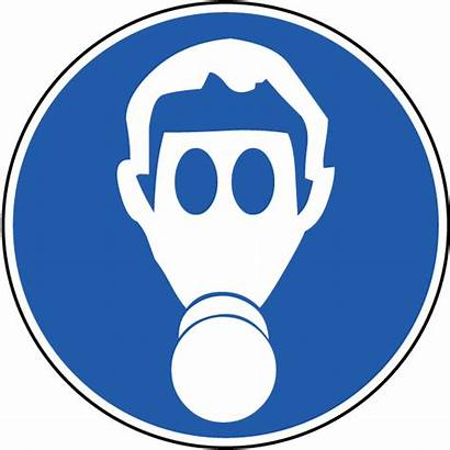 Label Mask Respiratory Wear Protection Symbol Gas
