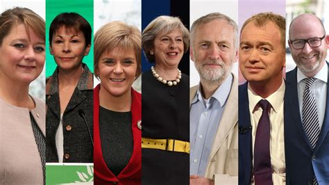General election 2017: Who are the UK political party ...