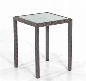 Polyrattan Tisch 60x60 : wohnen design klassisch art jardin ~ Buech-reservation.com Haus und Dekorationen