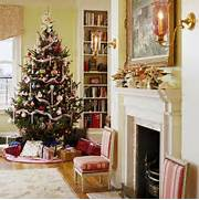 40 Traditional Christmas Decorations DigsDigs Christmas In A New England Clapboard Traditional Home Robeson Design Interior Designers Decorators Traditional Christmas Tree And Christmas Tree Decorations From Tesco