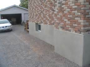 How To Parge A Basement Wall parging wall coatings amp foundation repair tybo concrete