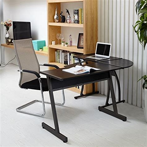 Computer Desk For Office Use by Office Corner Desk Coavas L Shaped Office Wood Desk Large