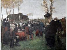 Fritz Mackensen – Gottesdienst im Freien – Museum am