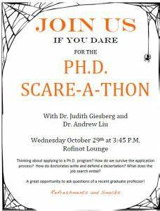 Ph.D. Scare-a-thon! | Historically Speaking