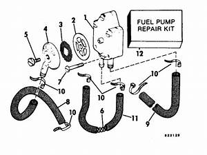 Johnson Fuel Pump Parts For 1982 70hp J70elcnb Outboard Motor