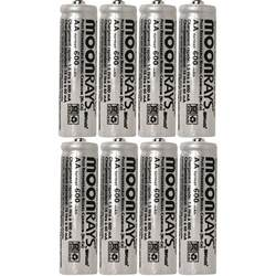 can you use regular aa batteries in solar lights solar