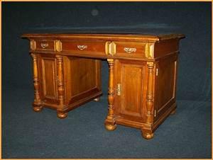 Schreibtisch Biedermeier Stil Tisch Schreibtisch Um 1920 Im