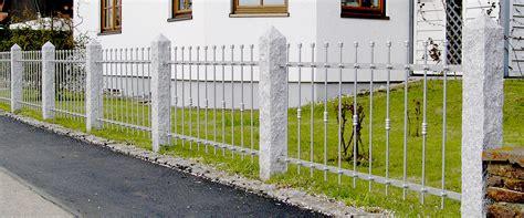 Edelstahl Zaun Günstig by G 252 Nstige Metallz 228 Une Aus Aluminium Edelstahl