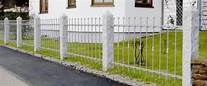 Zaunelemente Aus Metall : g nstige metallz une aus aluminium edelstahl ~ Sanjose-hotels-ca.com Haus und Dekorationen