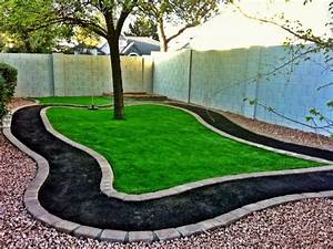 Make a DIY outdoor race car track for your kids! DIY