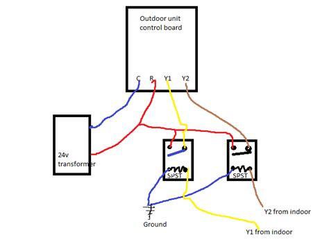 2 stage thermostat wiring diagram 33 wiring diagram