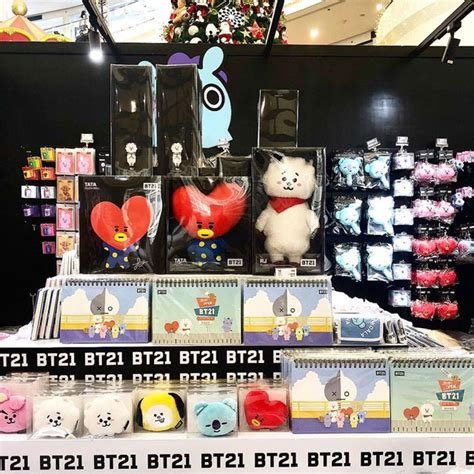Map of the soul in the philippines is finally opening its doors on saturday, may 29, 2021. BT21 Store at Robinsons Place Manila