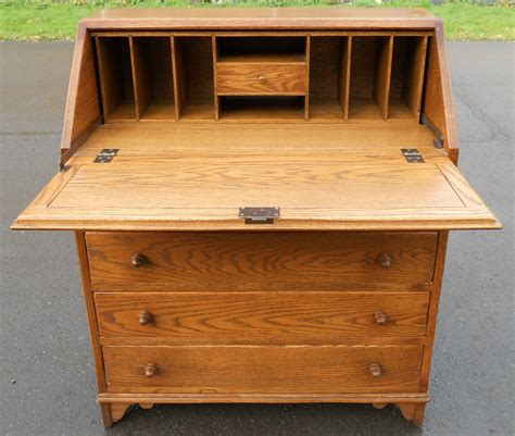 oak writing bureau furniture cheap writing bureau