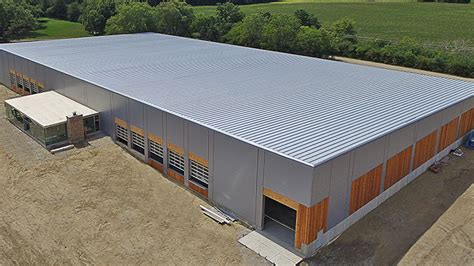 insulated metal panels  steel buildings nucor building systems