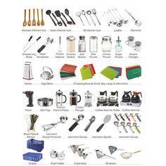 kitchen utensils names  kitchen accessories names