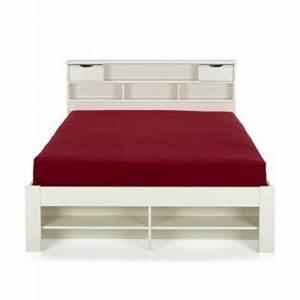 Lit Une Place Avec Rangement : lit avec coffre de rangement alinea ~ Teatrodelosmanantiales.com Idées de Décoration