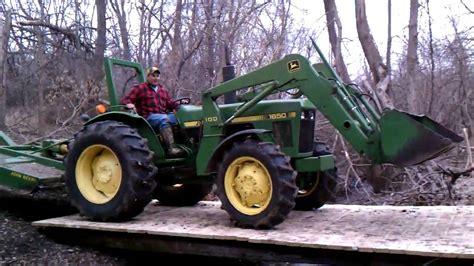 pole building deere tractor trip bridge