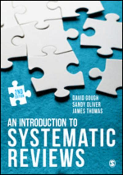 An Introduction to Systematic Reviews : David Gough ...
