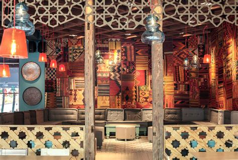 Exotic Oriental Restaurant Decor   InteriorZine