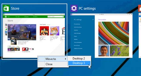 windows bureau virtuel bureaux virtuels windows 10 déplacer les applications d